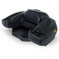 Camco Black Boar ATV/UTV Large Rear Lounger Seat -Doubles as Storage Box with Lock and Keys, Durable Water and Dust Resistant Design (66010)