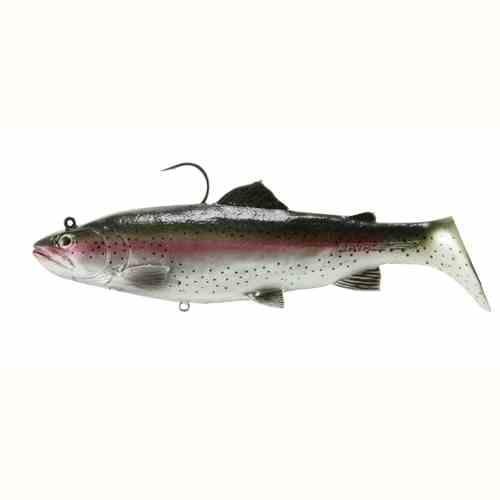 "SAVAGE GEAR 3D TROUT /""DARK TROUT/"" 5/"" 12.5cm SWIMBAIT FISH LURE"