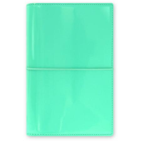 Filofax Domino Patent Personal Organiser (Turquoise) (Diary)