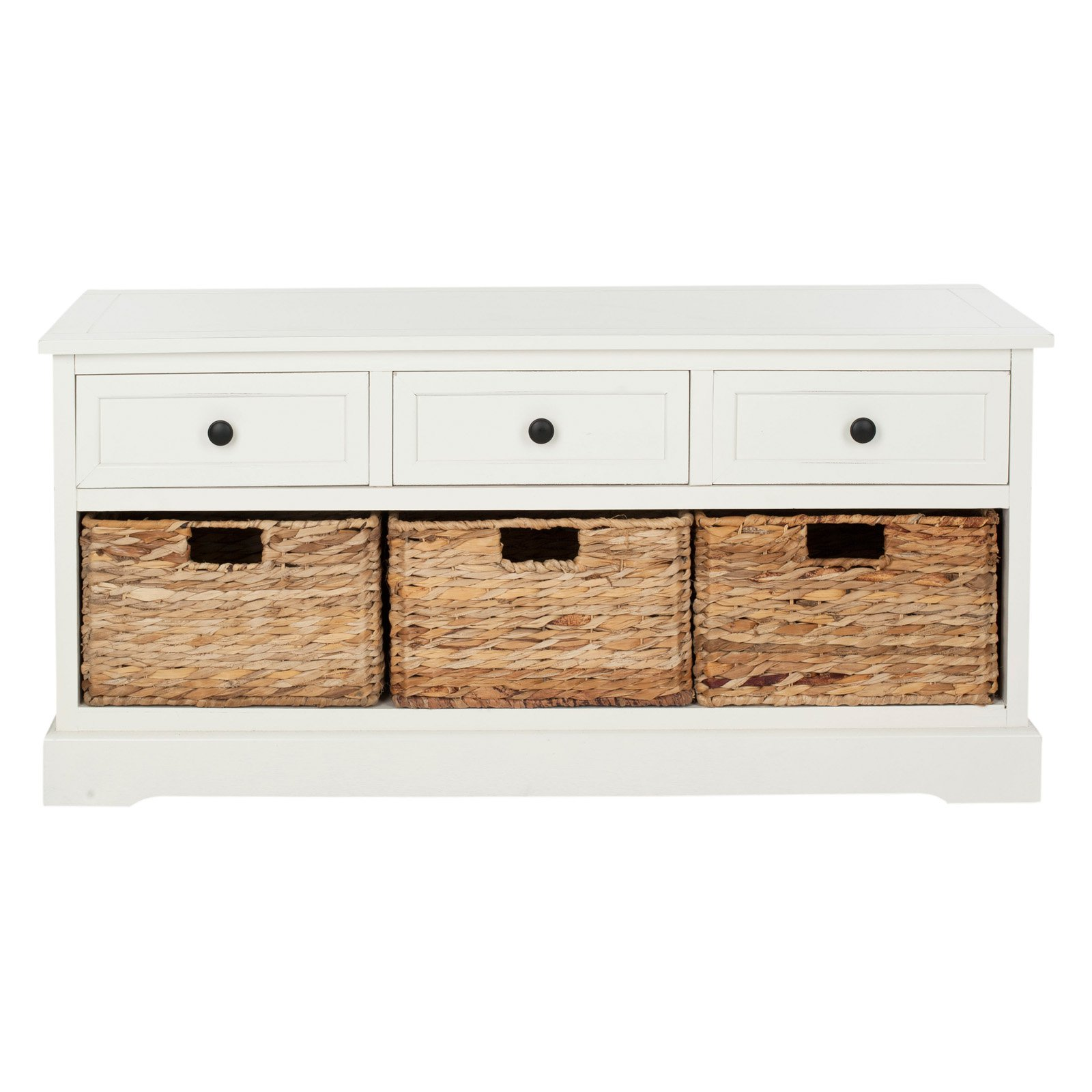 Safavieh Damien 3 Drawer Indoor Storage Bench