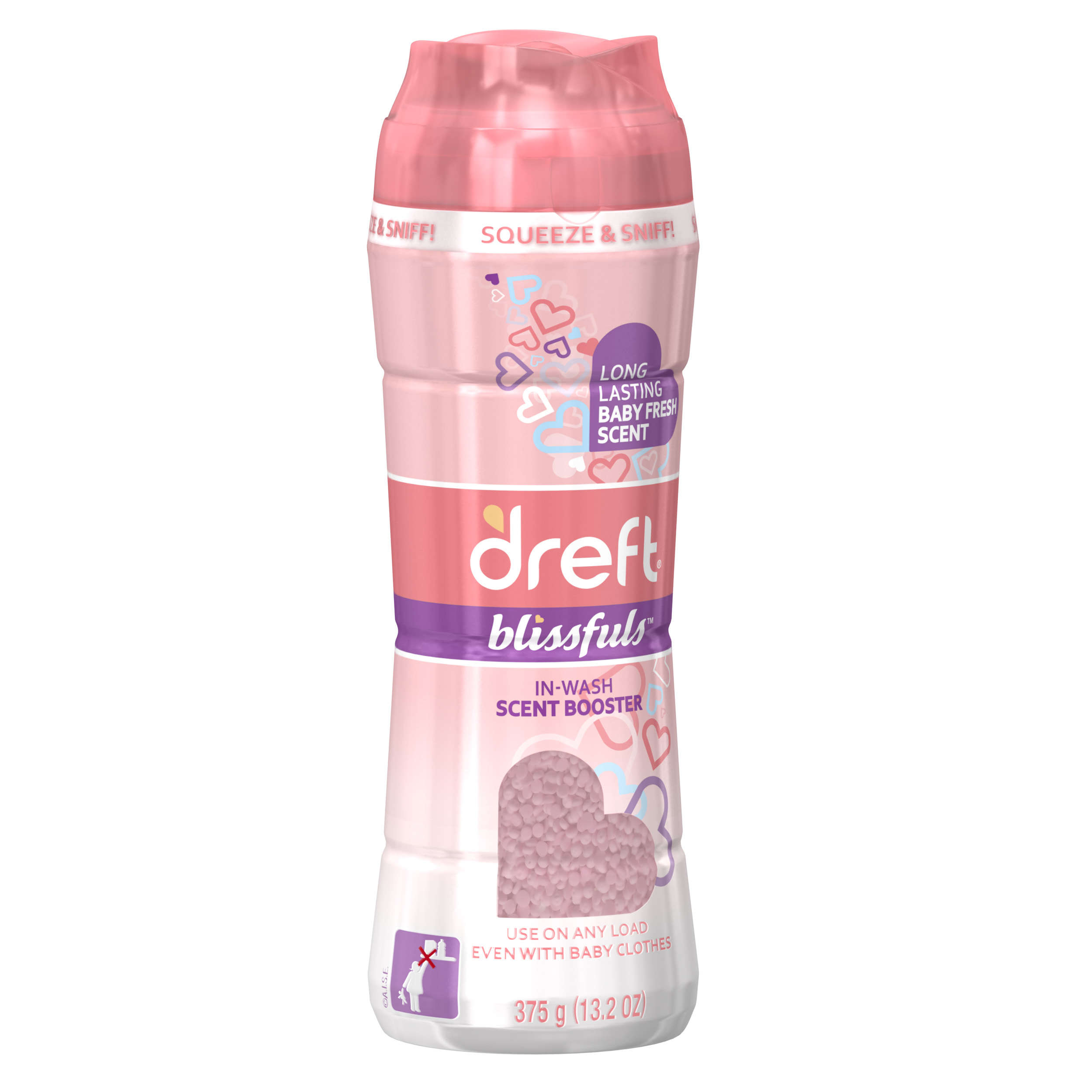 Dreft Blissfuls In Wash Laundry Scent Booster Baby Fresh 13 2 Oz