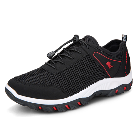 Men Outdoor Sneakers Breathable Hiking Shoes Mesh Running