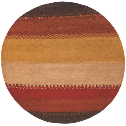 Momeni Desert Gabbeh Global Stripe Area Rug