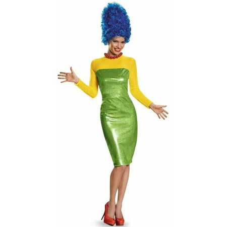 The Simpsons Marge Deluxe Women's Adult Halloween Costume