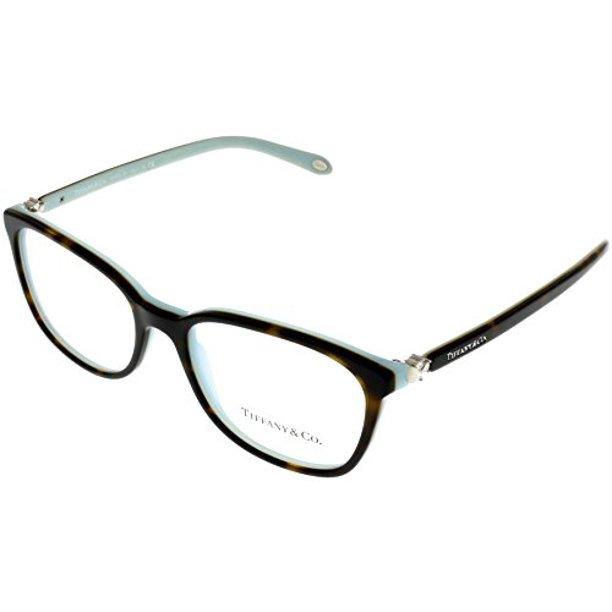 Tiffany Co Prescription Eyewear Frames Womens Oval Havana Tf2109hb 8134 Size Lens Bridge Temple 53 17 140 37 Walmart Com Walmart Com