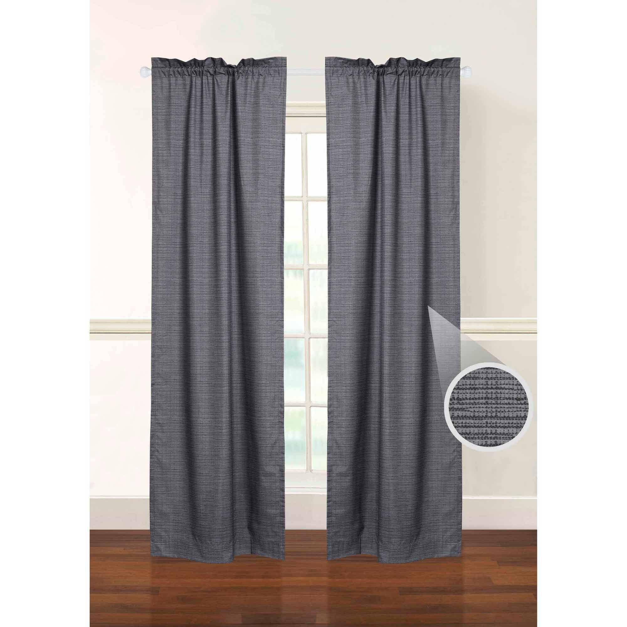 Walmart Insulated Curtains 28 Images Eclipse Blackout Thermaliner Curtain Panels Set Of 2