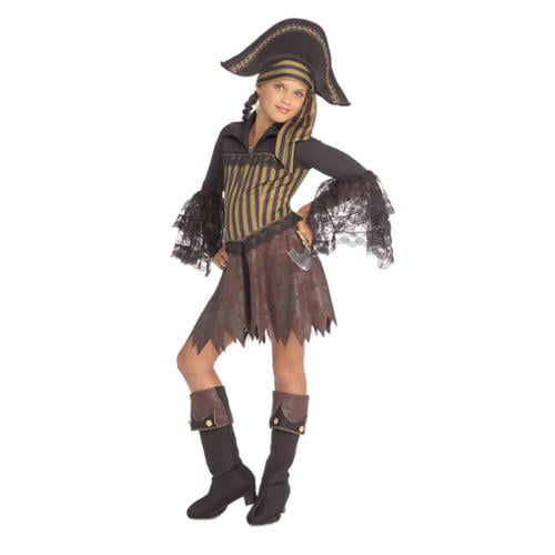 Childs Sassy Pirate Girl Costume by Rubie's Costume Company