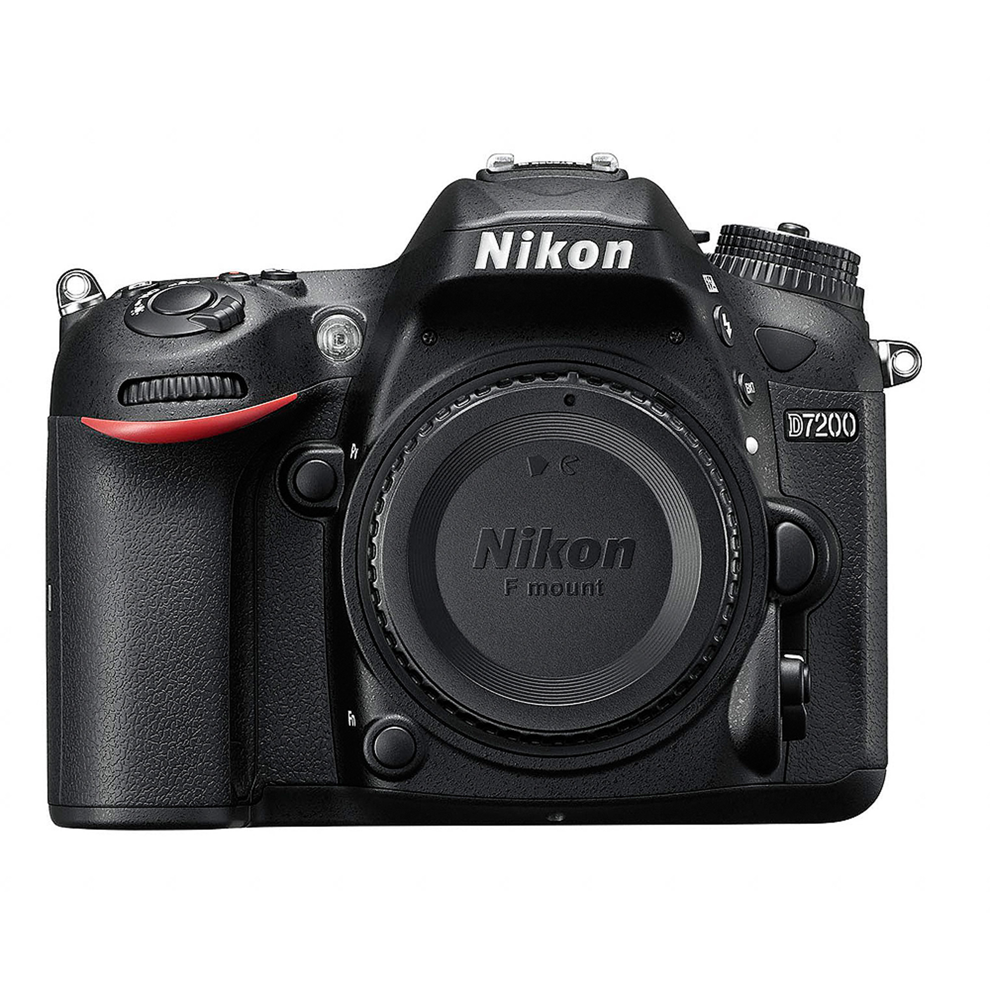 Nikon Black D7200 DX Digital SLR Camera with 24.2 Megapixels (Body Only) by Nikon