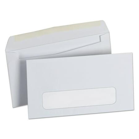 Universal Business Envelope, #6 3/4, Cheese Blade Flap, Gummed Closure, 3.63 x 6.5, White, 500/Box -UNV35216 3/4 Business Envelopes