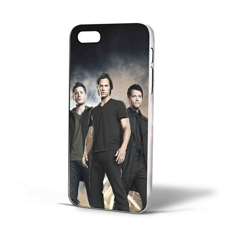 Ganma Sam Winchester Dean Winchester and Chastel Supernatural Case For iPhone Case (Case For iPhone 6s Black) - Sam And Dean Winchester Halloween Costumes