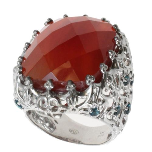 Dallas Prince  Carnelian Statement Ring