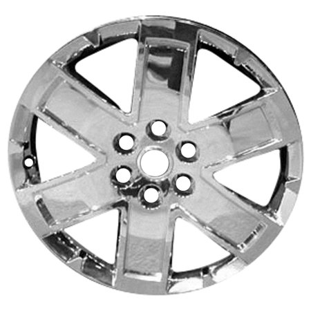 2010-2015 GMC Acadia  20x7.5 Aluminum Alloy Wheel Rim Chrome Cladded Face - 5431