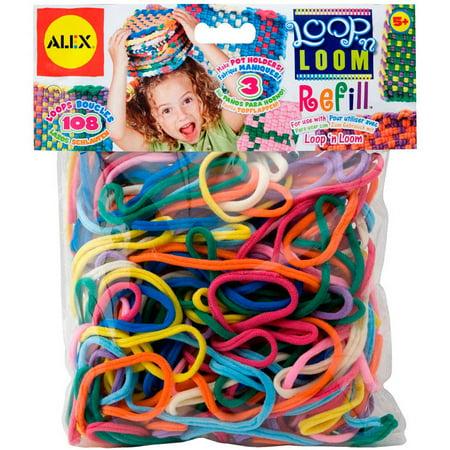 ALEX Toys Craft Loop 'N Loom Refill