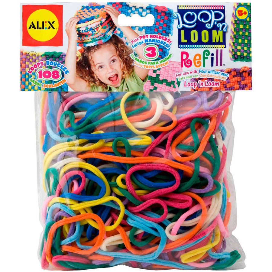 ALEX Toys Craft Loop 'N Loom Refill
