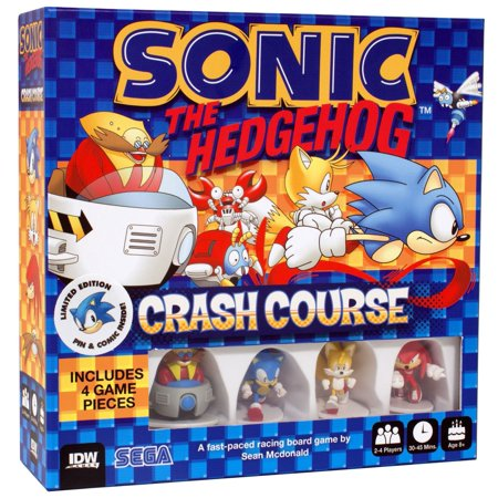 Sonic The Hedgehog Crash Course Board Game [Limited Edition]