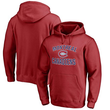 Montreal Canadiens Victory Arch Fleece Pullover Hoodie - Red - Montreal Canadiens Rink