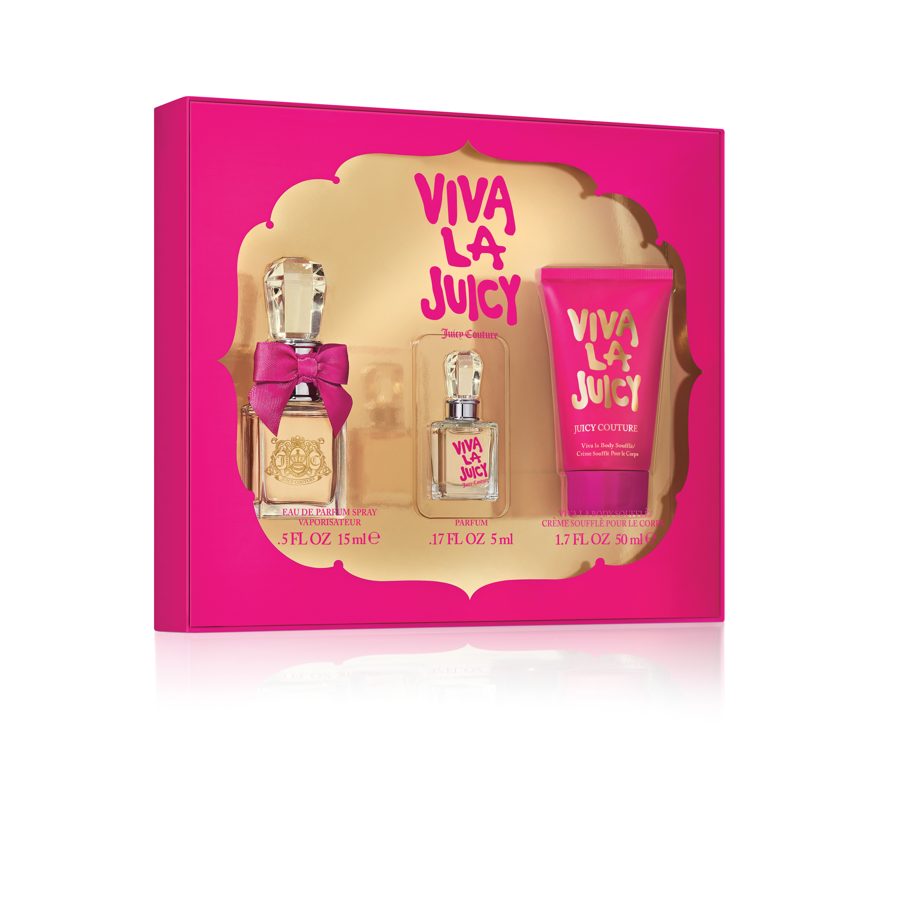 Juicy Couture Viva La Juicy Perfume Gift Set For Women, 3 Piece