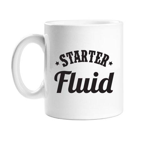 Starter Fluid 11 oz White Coffee Mug