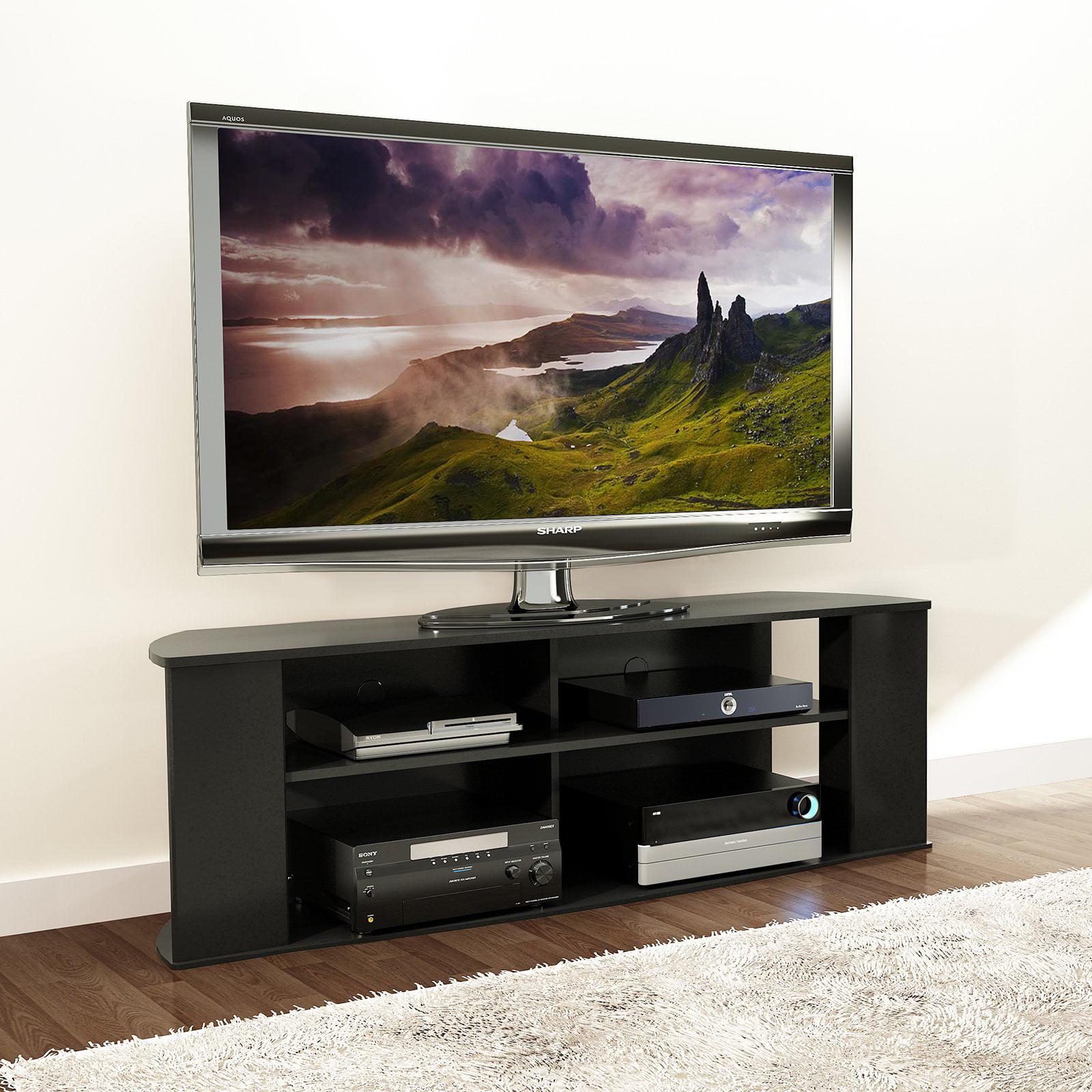Prepac Essentials 60-inch TV Stand - Black