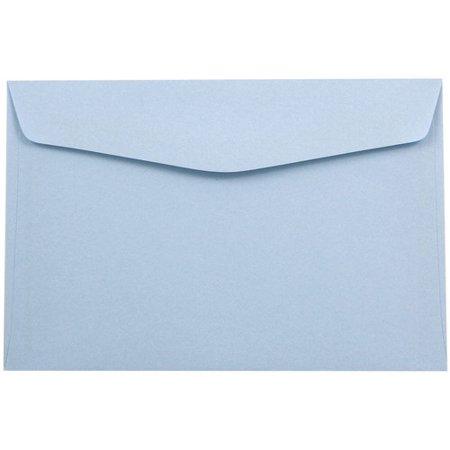6x9 baby blue envelopes booklet 6 x 9 25 per carton walmart com
