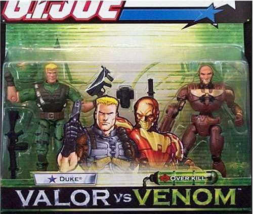 GI Joe Valor vs. Venom Duke & Overkill Action Figure 2-Pack by