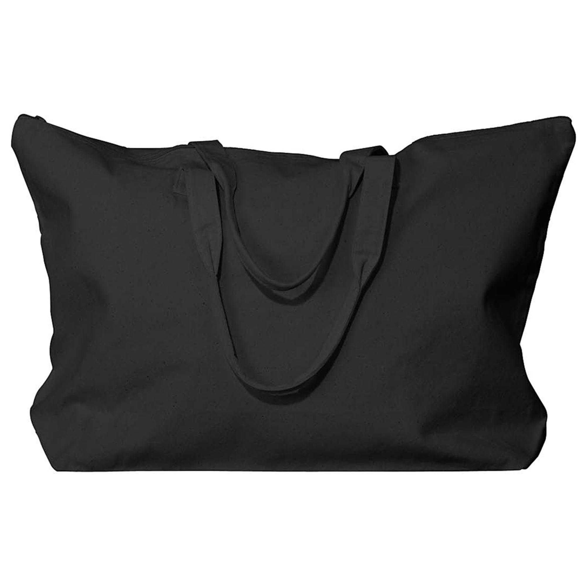 Liberty Bags Amanda Canvas Pocket Zipper Tote Bag