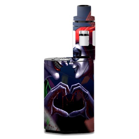 Skins Decals For Smok Gx350 Kit Vape Mod / Harleyquin And Joke (Best Vape For Hash)
