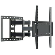 Husky Mounts Heavy Duty Full Motion TV Wall Mount Fits Most 32  55 Inch LED LCD Flat Screen and Other with VESA 400x400 400x200 300x300 300x200 200x200 or 200x150 Loads 99 lb Tilt Swivel TV Bracket
