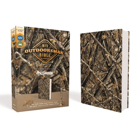 Niv, Outdoorsman Bible, Lost Camo Edition, Leathersoft, Red Letter Edition, Comfort Print : The Field-Ready Cover Blends in But the Words Stand Out with Comfort (Two Letter Scrabble Words Starting With V)