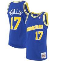 Chris Mullin Golden State Warriors Mitchell & Ness 1993-94 Hardwood Classics Swingman Jersey - Royal