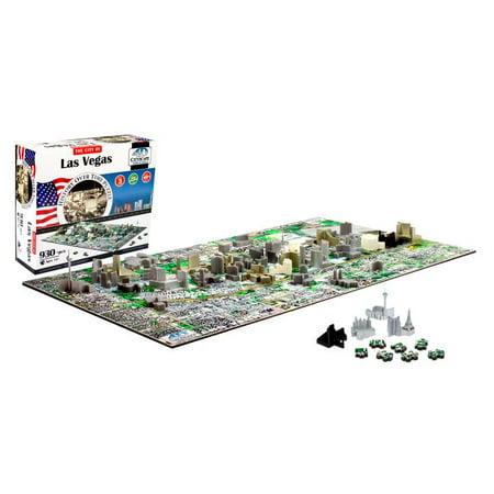 4D Cityscape Las Vegas History Time Puzzle, 930+ Pieces](4d Puzzle)