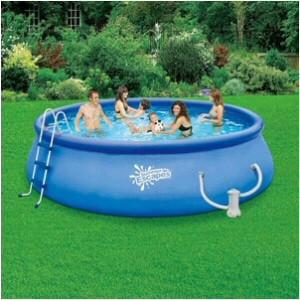 POL 15' x 48; Inflatable Quick Set Pool Set