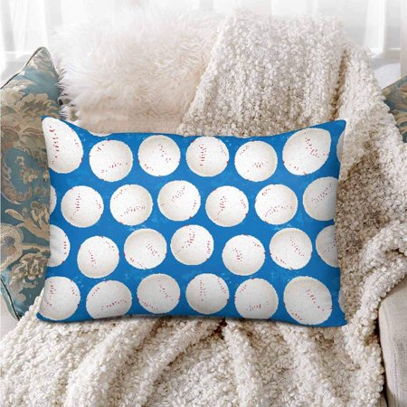 GCKG Baseball Balls Sport seamless Pattern Pillow Cases Pillowcase 20x30 inches - image 3 of 4
