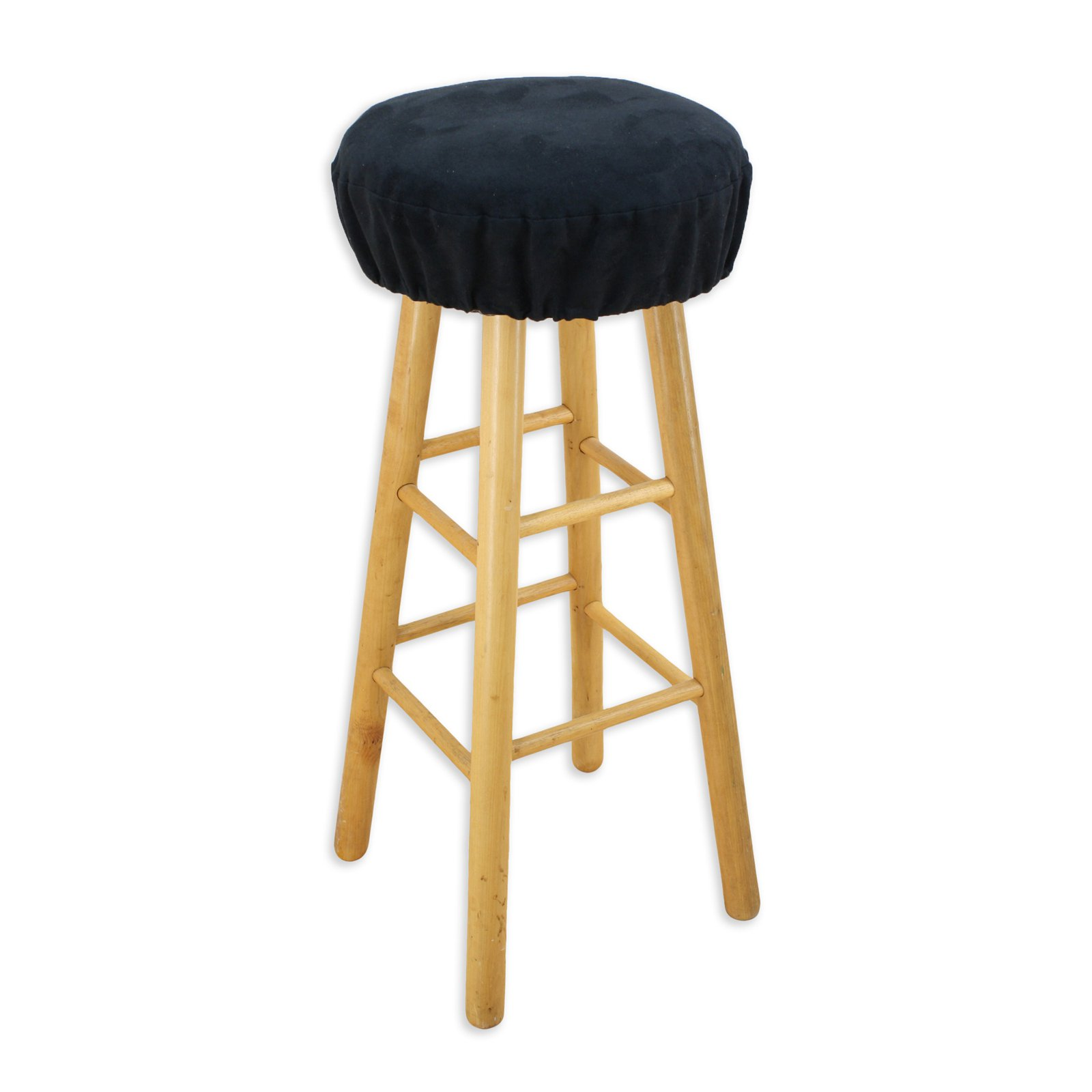 Brite Ideas Living Passion Suede in Round Foam Bar Stool Cushion Walmart