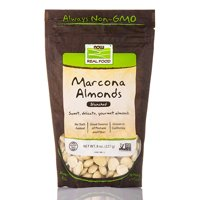 NOW Real Food - Marcona Almonds (Blanched) - 8 oz (227 Grams) by NOW