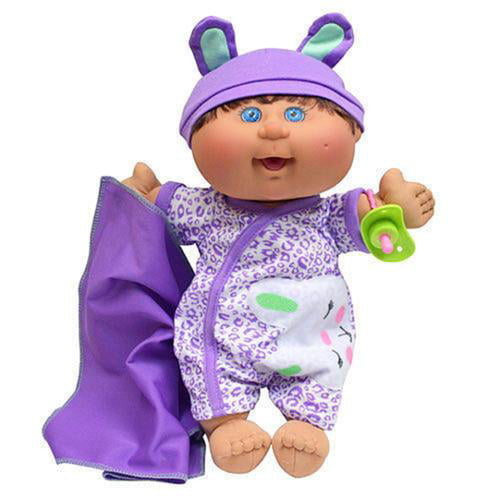 Cabbage Patch Kids Naptime Babies Doll, Brunette Blue Eye Girl by Wicked Cool Toys