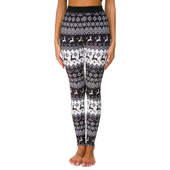 b0facc320e3 Himone - Christmas Xmas Women 3D Print Leggings Stretchy Casual ...