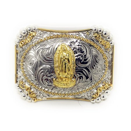 Texas West Western Cowboy/Cowgirl Texas Premium Rectangle Buckle Head In Multi Symbol