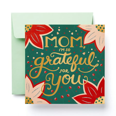 American Greetings Grateful For You Christmas Greeting Card for Mom ()