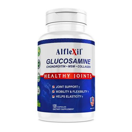 Alfa Alflexil Glucosamine Chondroitin MSM Collagen 120 Capsules