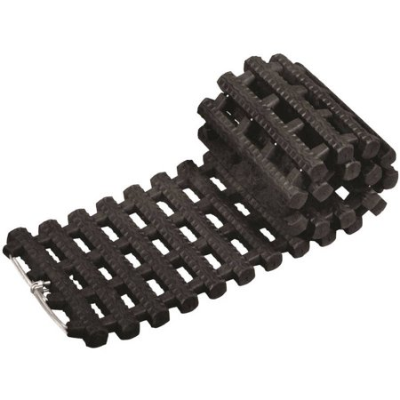 Snow Joe Auto Joe TrackAssist, Thermoplastic Rubber Non Slip Traction for Your Car's Tire in Ice, Snow, Mud and