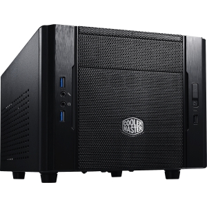 Cooler Master Elite 130 - Mini-ITX Computer Case with Mesh Front Panel and Water Cooling Support (RC-130-KKN1)