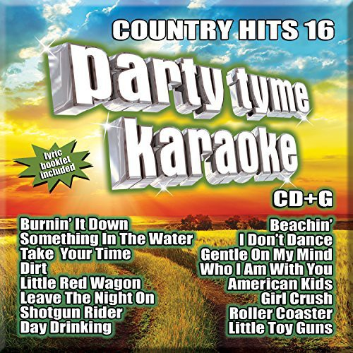 Party Tyme Karaoke: Country Hits 16 (CD)