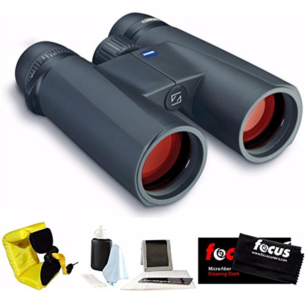 Zeiss 8x42 Conquest HD Binocular with Foam Strap & Cleaning Care Kit