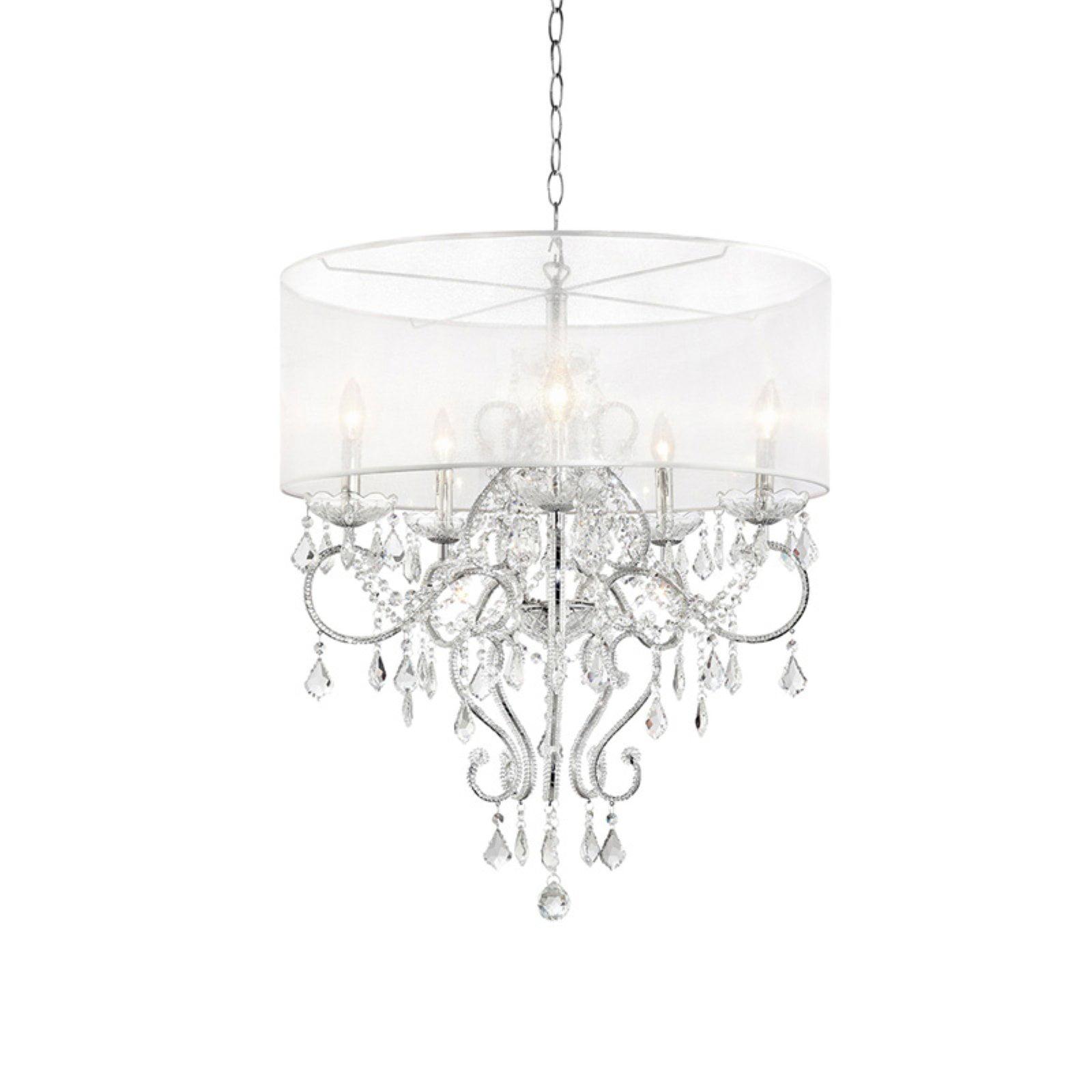 """31.5"""" Evangelia Crystal Ceiling Lamp by Generic"""