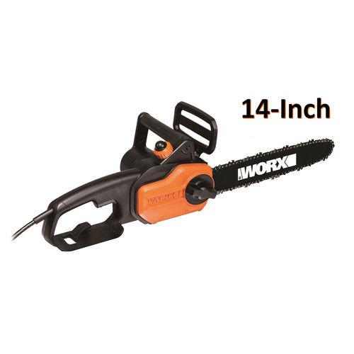 """WORX WG305.1 8 Amp Electric 14"""" Chainsaw"""