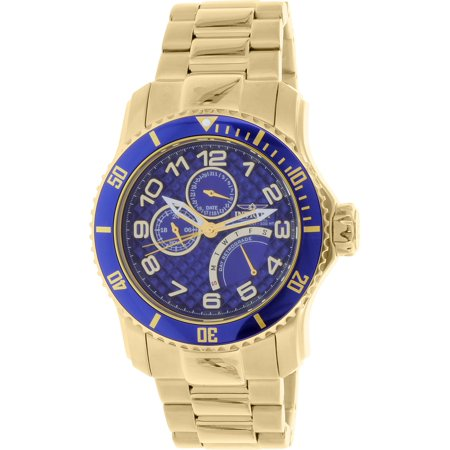 15342 Men's Pro Diver Analog Display Japanese Quartz Gold Watch