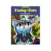 Design Originals Funky Cats Coloring Bk