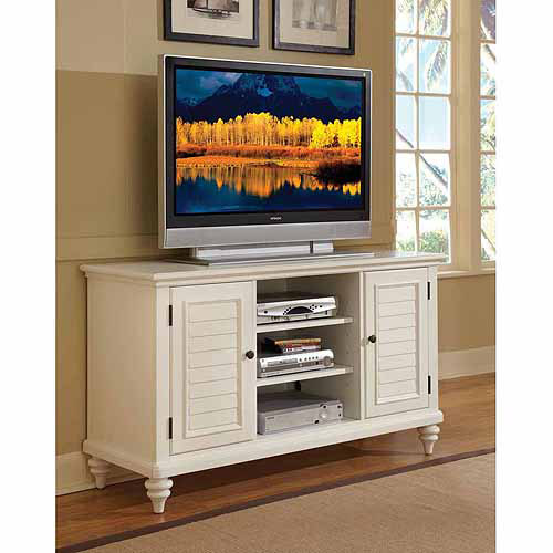 Home Styles Bermuda Brushed White TV Credenza by HomeStyles