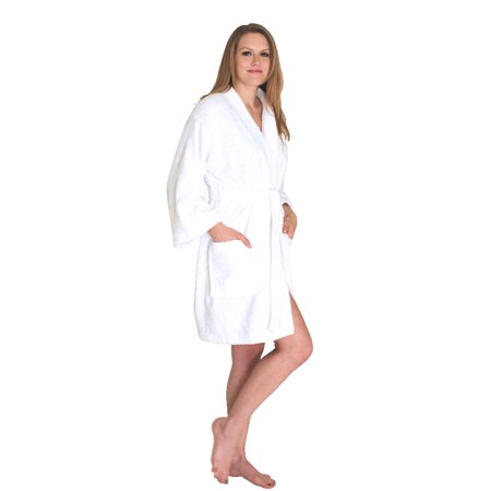 NDK New York Women's Terry Cloth Short Robe